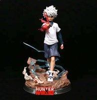 23 cm JanPanese Anime Hunter Chiya PVC Action Figure Gioco Gioco Statua Collezione Modello Doll Regalo Q0722