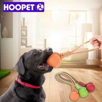 Hoopet Pet Köpek Halat Çiğnemek TUG Oyuncak Interaktif Çiğnemek Kumaşlı Dişler Temizleme Oyuncaklar Küçük Orta Büyük Köpekler için 3 Renkler H0830