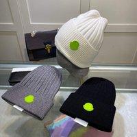 Tasarımcı Kafatası Kapaklar Moda Nefes Soğuk Geçirmez Kaşmir Beanie Cap Iyi Doku Şapka Erkek Kadın 4 Renk Yüksek Kaliteli