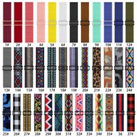 Nylon Fabric Strap Band Smart Watchband For Apple Watch Bracelet iwatch 3 4 5 se 6 series 38MM 40MM 42MM 44MM