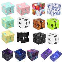 party favor TIKTOK Infinity Magic Cube fidget toys Creative Sky Antistress Office Flip Cubic Puzzle Mini Blocks Decompression Toy