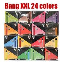 24色bang xxl使い捨て可能なeasタバコvape penキットプラスXLフロー2000パフ6ml容量のバッテリー気化器の高速貨物