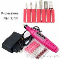 Trapano elettrico professionale Drill Set Set Mill Cutter Machine per Manicure Nail Tips Manicure Electric Nail Pedicure Pedicure Nails
