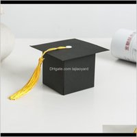 Wrap Ourwarm 36Pcs Paper Candy Gift Grad Cap Bag With Tassel Chocolate Box Graduation Party Favor Supplies Decoration Wmtbba Ngct Okwlf