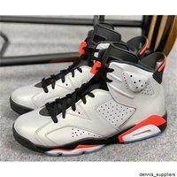 Yeni 6 S JSP 3 M Yansıtıcı Hatalar Bunny Basketbol Ayakkabı Erkekler 6 Gümüş Siyah Kızılötesi Spor Sneakers Yüksek Kalite Kutusu ile