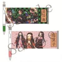 Gel Pens Anime Pen Demon Slayer Office School Stationery Tanjiro Inosukei Students Cartoon Writing Supplies Kawaii Peripherals