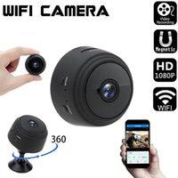 A9 1080p Full HD Mini Câmeras Espião Video Cam Wifi IP Segurança Sem Fio Escondida Indoor Home Visão Noturna Visão Noturna Camcorder Pequena