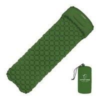 Outdoor Pads Camping Inflatable Mattress Air Cushion Hiking Sleeping Pad Travel Mat Folding Bed Ultralight Trekking Portable 190*30cm