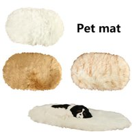 Pet Blanket Super Soft Sleeping Mat Dog Bed Mattress Wool Plush Warm Cushion For Small Cat Beds & Furniture