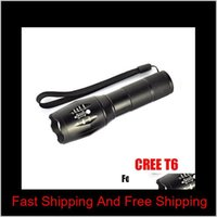 And Camping Hiking Sports Outdoors G700 E17 Cree Xml T6 2000Lumens High Power Torches Zoomable Tactical Led Flashlights Torch Light Fo