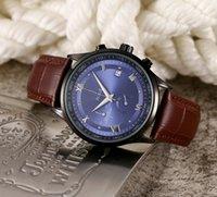 Classic Hommes Designer Montres Quartz Cuir Sangle Mouvement de la batterie Horloge Orologio da Uomo Montre-bracelet occasionnel