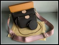 Mulheres favoritas de couro genuíno bolsas de moda multi pochette acessórios bolsas flor mini coceteta 3 pcs crossbody bag designers luxurys ombro sacos