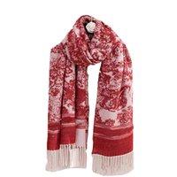 디자이너 스카프 여성 망 패션 겨울 따뜻한 Pashmina 여자 목도리 캐시미어 여자 스카프 긴 랩 스카프 shawls 180 * 70cm