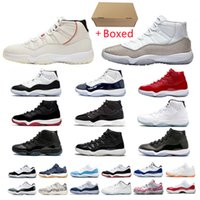 Dunk Hommes Femme Basketball Chaussures Jumpman 11 Low Blanc Bred 11s Concord 45 23 Space Sports Snake Rose Gold Hommes Femmes Sneakers 25e anniversaire Traqueurs