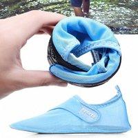 Neue stil sandalen männer frauen barfuß wasser schuhe schnell trocken sommer strand einstellbar mesh schwimmen socken l9c5 #