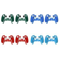 Game Controllers & Joysticks For PS5 Controller Handle Protection Cover Panel Replacement Shell Decoration Accessories