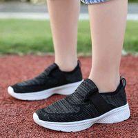 Tennis shoes 2021 Children Mesh Casual Shoes Girl Sneakers Kids Sport Footwear for Boys Light Cute Pink Flat 0911