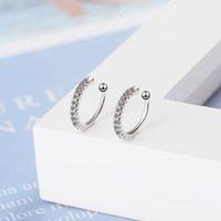 Fashion Simple Ear Cuff Tasteful Zircon Clip on Earrings for Women Small Ear Clips Girls Jewelry Gift