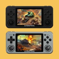 3.5 Inç Metal Kabuk Video El Oyun Oyuncu Retro Konsol Wifi Çift Oyuncular PS1 MD GG Çocuk Hediye Boy Taşınabilir