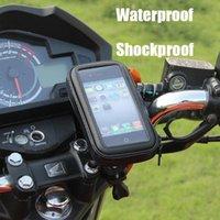 Bisiklet Çantası Durumda Motosiklet Bisiklet Montaj Telefon Tutucu Samsung Mobil M / L / XL Boyutu Su Geçirmez Hücre Torbaları