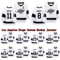 11 anze kopitar 로스 앤젤레스 킹스 화이트 헤리티지 던지기 90 년대 저지 드 류 8 Doughty 23 Dustin Brown 99 Gretzky Hockey Jerseys