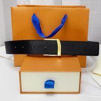 Новые моды мужские деловые ремни змеи черно-коричневые CEINTURE автоматические пряжки натуральные кожаные ремни для мужчин талии женщины с оранжевой коробкой