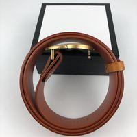 homens designers cintos mulheres homem clássico casual couro preto marrom cinto cinturones de diseño largura 3.8cm com caixa