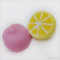 9.5cm 점보 천천히 상승 시뮬레이션 과일 레몬짜리 짜기 벤트 완화 감압 모조 레몬 짜기 어린이 장난감