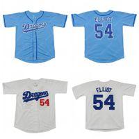 Men's Chunichi Dragons Jack Elliot Mr. Movie Baseball Jersey Stitched