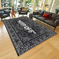 Fashion KEEP OFF Living Room Carpet Bedroom Bedside Bay Window Area Rugs Sofa Floor Mat