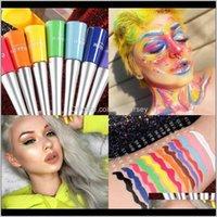 Eyes Health Beauty Drop Consegna 2021 Eyeshadow Lunga durata LIQUIDUTI AMERGABILE MATITE 17 Colore Shimmer Liner Trucco Eyeliner Liquid Shado