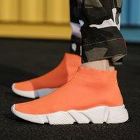Men Trend Socks Sneakers for Couples Mesh Outdoor Walking Men Women Running Shoes Zapatos De Mujer Lover outdoor jogging trainer