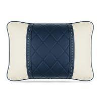 Dla Mercedes Maybach S-Class Headrest Luksusowy Skórzany Neck Poduszki Samochodowe Poduszki Lędźwiowe Poduszki Poduszki Akcesoria