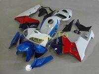 Комплекты стойки мотоциклов для Honda CBR600RR F5 2005-2006 красный синий настроить ABS обтекательный комплект Inmecion CBR600 RR 05-06 2005 2006 Bodykits Части кузова # J29E7
