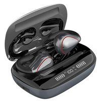 Headphones & Earphones TWS Clip-Ear Bluetooth Earphone Waterproof Sports Wireless Headphone HiFi Stereo Noise Reduction Eardbuds