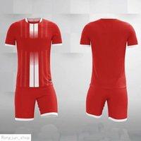 Blank Kids Soccer Jersey Short Set Adult Football Kits Clothes Men Tracksuit Children Training Suit Sport Wear Uniform