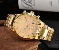 2021 Haute Qualité Montres de luxe de luxe Série à six aiguilles TOUTES TRAVAILLAGE DE TRAVAIL QUARTZ WATCH 1853 TISS-Bracelet montre-bracelet rond de la ceinture en acier Cadeau de mode