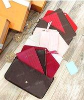 3 pièce avec boîte de luxe designer design hobo femme portefeuille sac à bandoulière chaîne fourre-tout fourre-tout Embygagement Bandbody sacs sacs à main Pochette Felicie amovible sacs à main amovibles