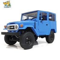 WPL Metal RC Car C34 RTR 1/16 Toyota FJ40 4WD Climbing Off-road Truck Remote Control Car DIY Accessories RC Toy For Kids RC Gift Q0726