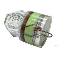 Suministros de jardín Mar Diamond Diamond Light Lure Night Pesca LED Poli Submarino Luminoso Luminoso Impermeable Trampa de Peces HWD6127