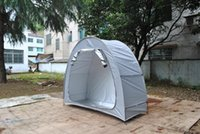 Tents And Shelters CZX-496 Grey Bike Tent Storage Shed,Bicycle Shed With Siliver Coated For Outdoors Camping Outdoor