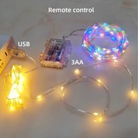 String Lights 33 FT 100 LED Fairy Lights Battery Operated Remote Control String Light with 8 Scence Modes Christmas Light for Indoor Outdoor Wedding Party