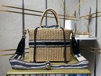 Carrello di cibo Totes Designer Borsa intrecciata Donna Fashion Luxury One-Spalla Borsa a tracolla di Alta Qualità Marchio Casual Borse Lady Regalo