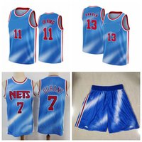 Kevin Durant # 7 جيرسي 11 Kyrie Irving 13 Harden Jersey Black كرة السلة جيرسي كرة السلة قصيرة