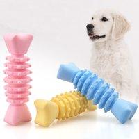 Fabrikverkauf umweltfreundliche Gummispielwaren Hunde Zähne Reinigung PET Hund Kauspielzeug WY1337