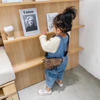 Sac à main imprimé Sac à main imprimé Designer Girls Enfants Sac à bretelles Enfants Léopard Plover Case Buste Sacs Femmes Mini Bourse A7640