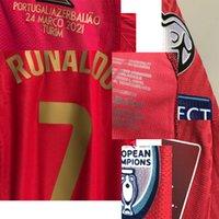 Jogador desgastado do fósforo do futebol da faculdade americano vs Azerbaijao Ronaldo Maillot com toda a camisa do copo da liga francesa de Sponosr