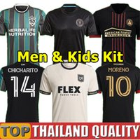 MLS 21 LA Galaxy soccer jerseys 22 Atlanta United FC footbal...