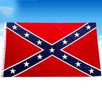 Новый двухсторонний Confehare Flag Rebel Flag Holiday Party Decor Polyester можно настраивать баннеры на открытом воздухе