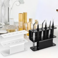 Eyebrow Tools & Stencils Acrylic Tweezers Storage Rack Display Stand Tattoo Beauty Shelf Holder Lightweight Concise Durable And Practical